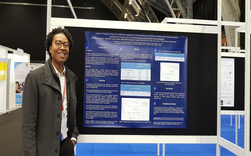 Best of the Best poster at British Cardiac Society
